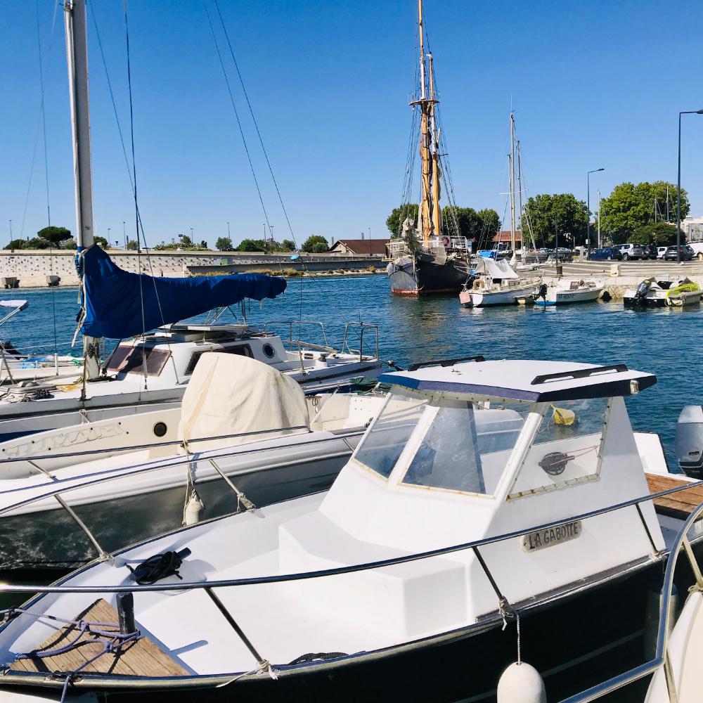 Fishing boats in sète