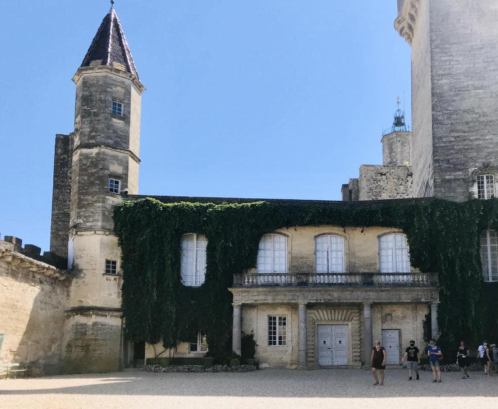 Main tower of Château Ducal d'Uzès