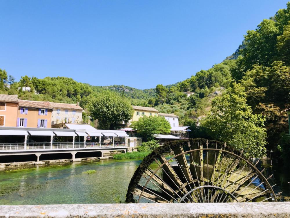 Papermill at Fontaine de Vaucluse