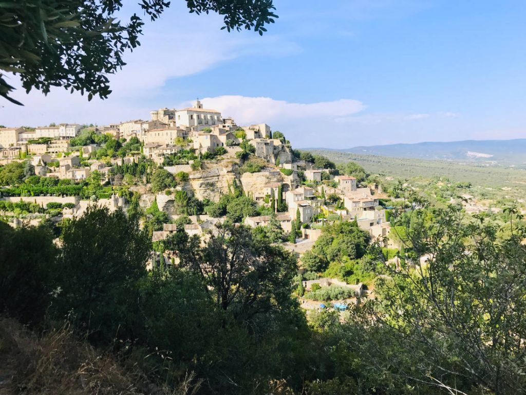 Gordes in Provence, from a distance