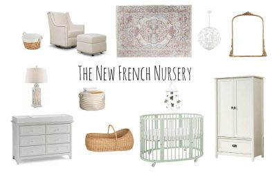 The New French Nursery Decor: 14 Chic Furniture Ideas