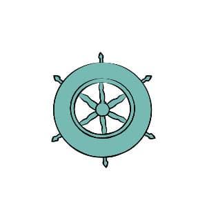 sailer wheel illustration
