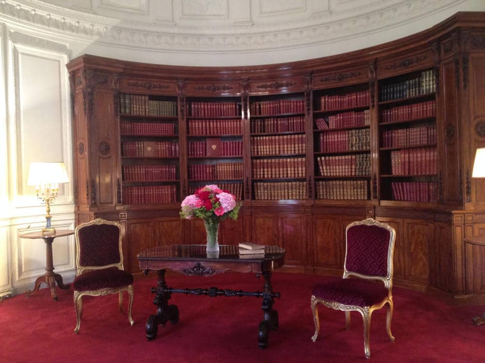 Previous furniture in the Presidential Library