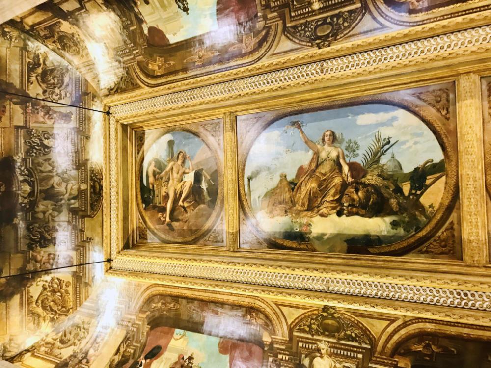 Ceiling of Salle des Pas Perdus