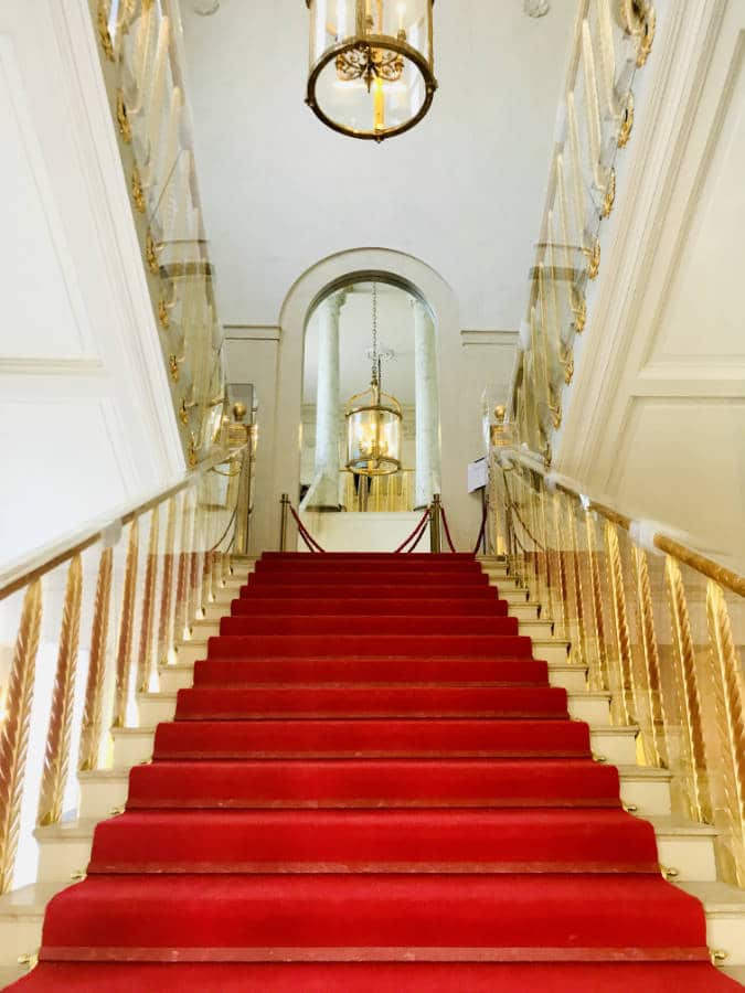 Murat Staircase to the Office of the President of France