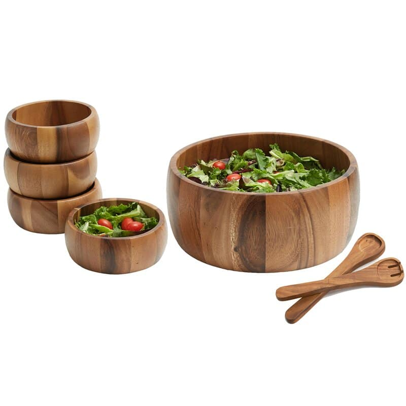 7 Piece Salad Bowl Set