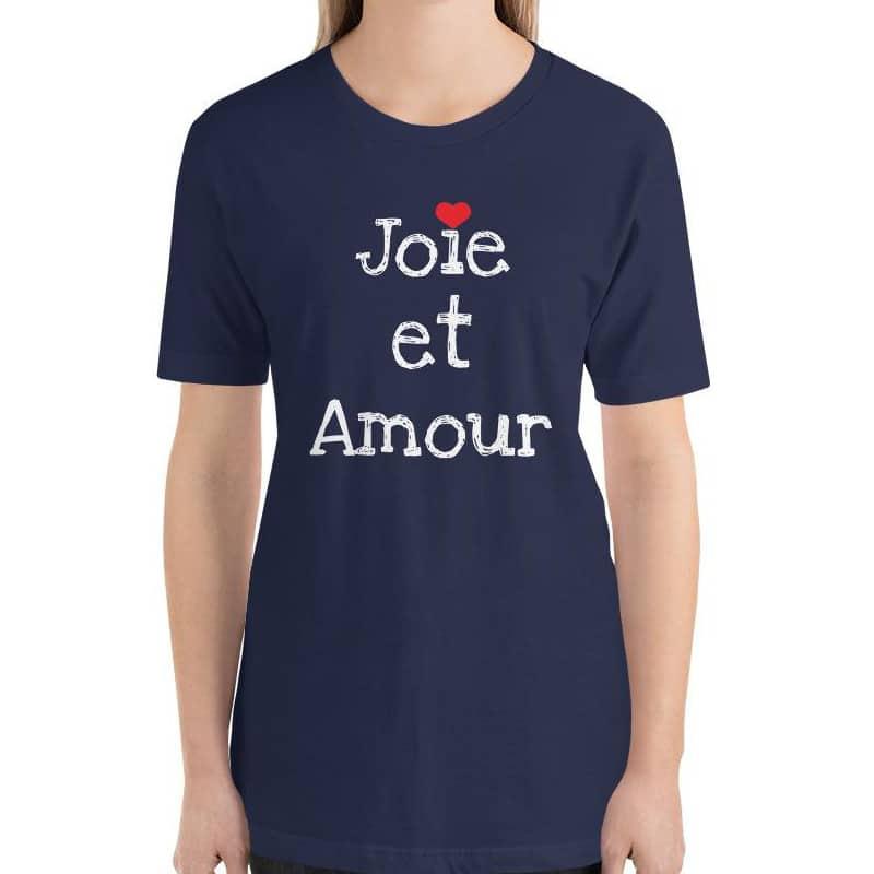joie et amour t-shirt