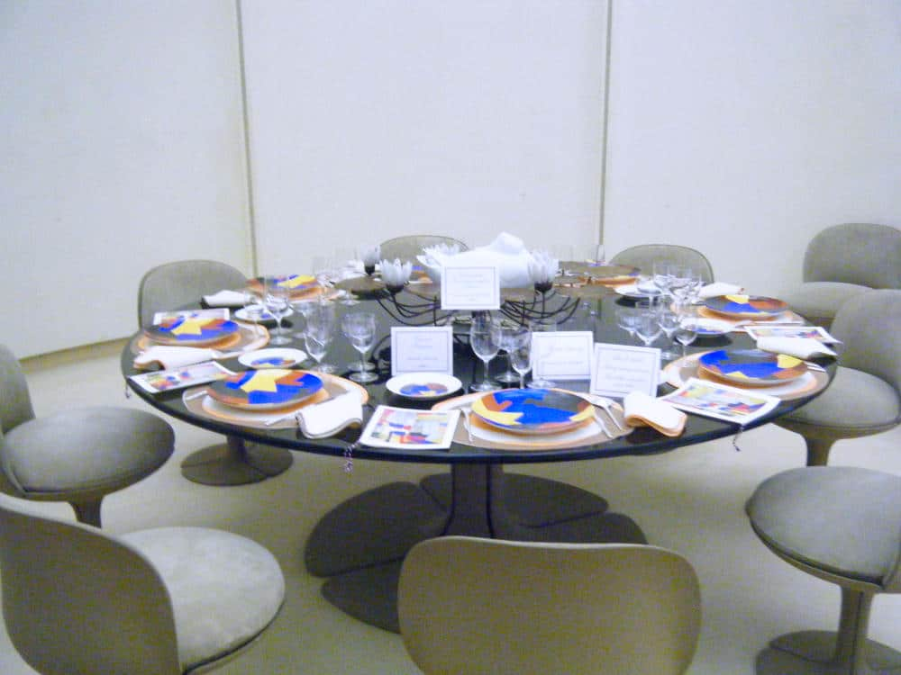 Original George Pompidou table back in 2010