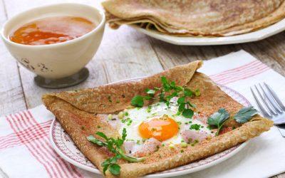 Savory Crêpe Recipe: The Buckwheat Galette Bretonne