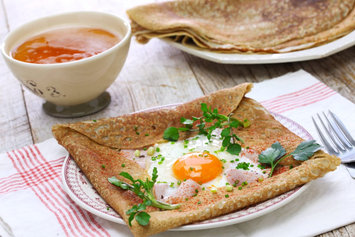 Savory Crepe Recipe The Buckwheat Galette Bretonne Snippets Of Paris