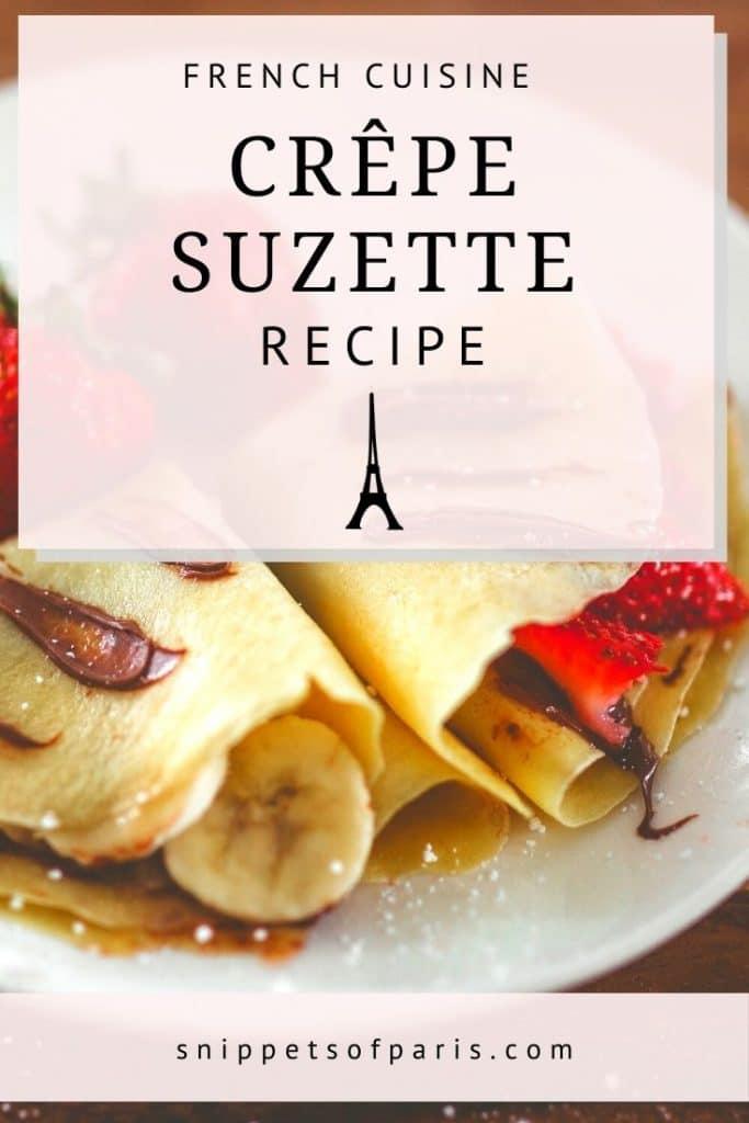 crepe suzette - pin for pinterest