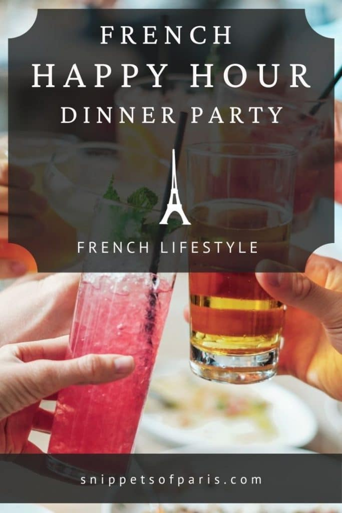 french apero dinner party - pin for pinterest