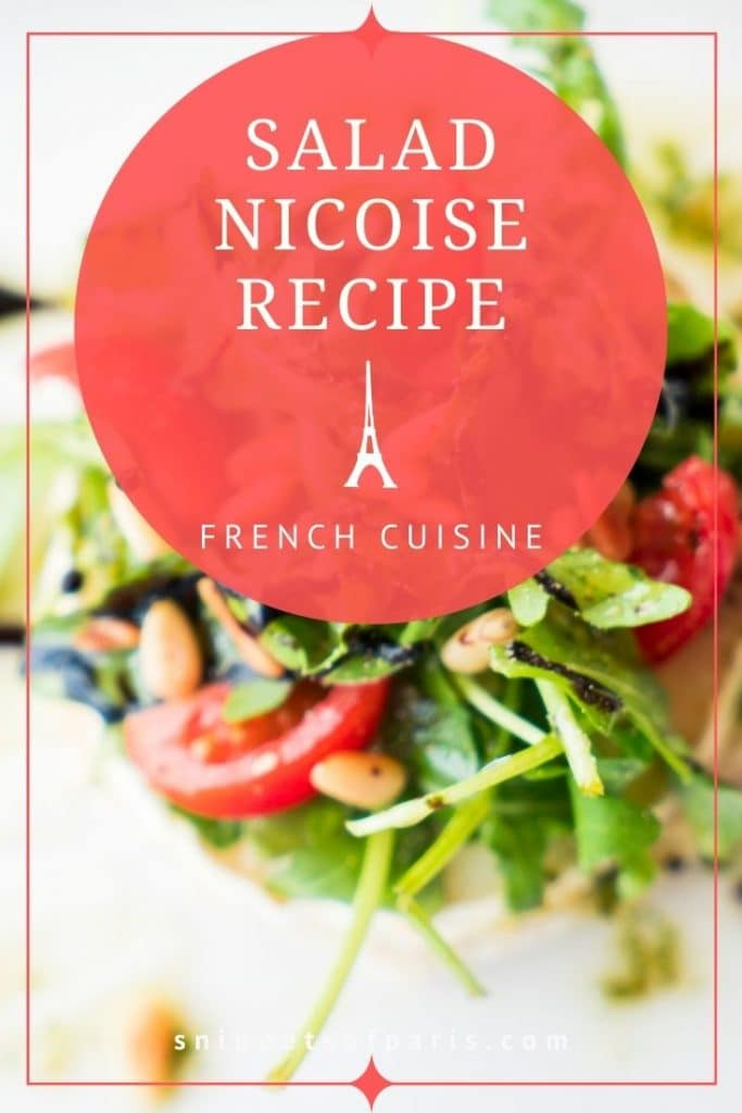 Salad Nicoise Recipe - Pin for Pinterest