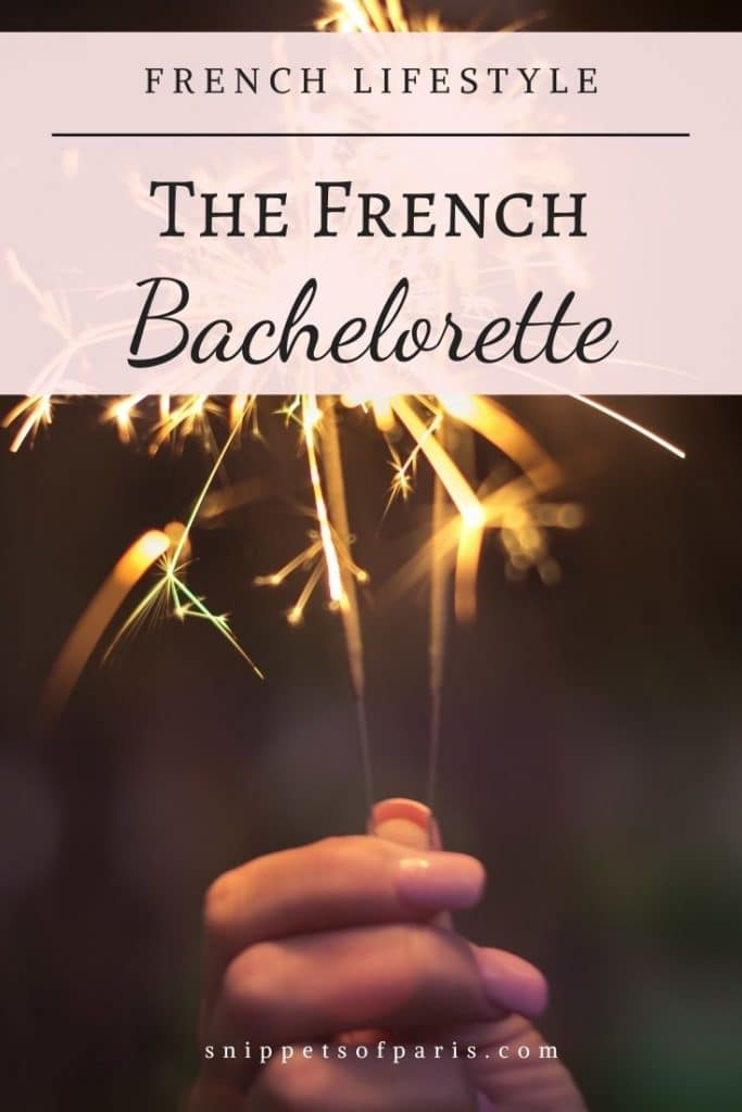 french bachelor party - pin for pinterest