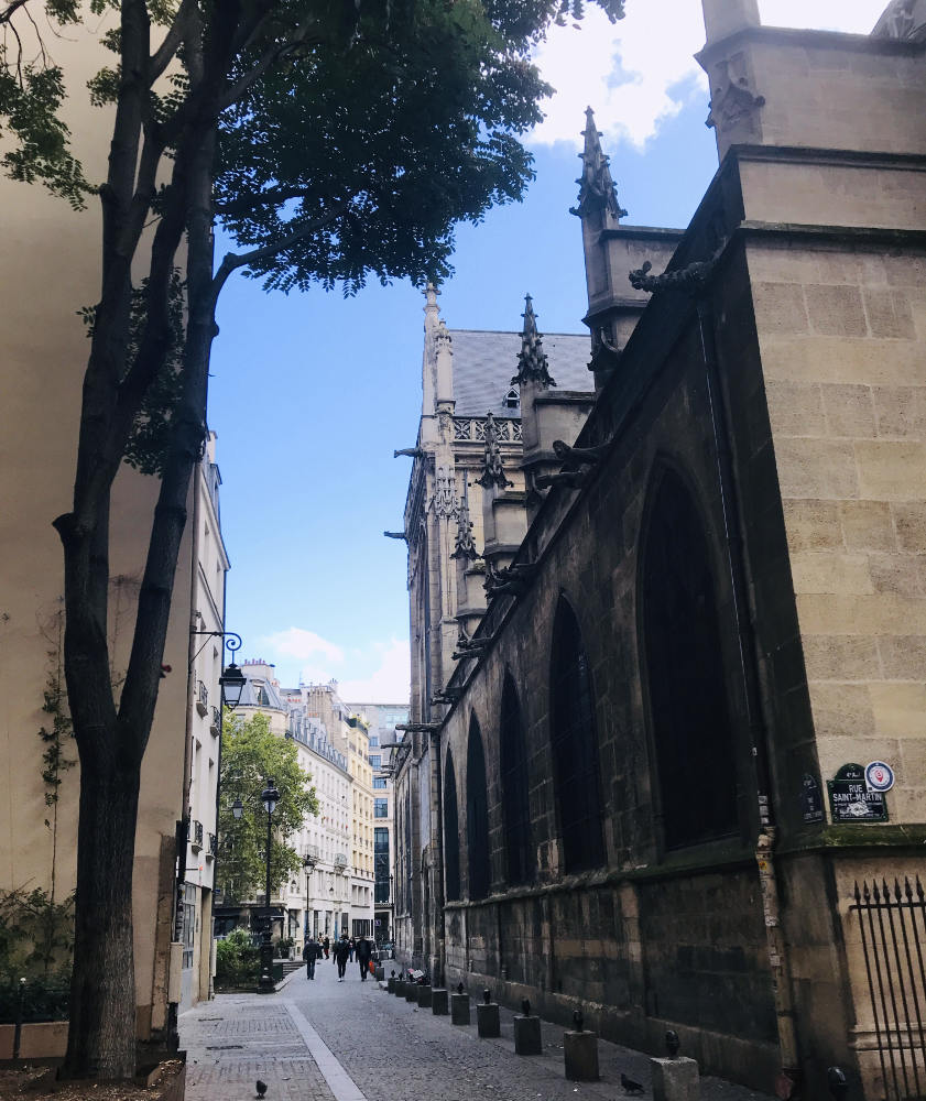 A French church