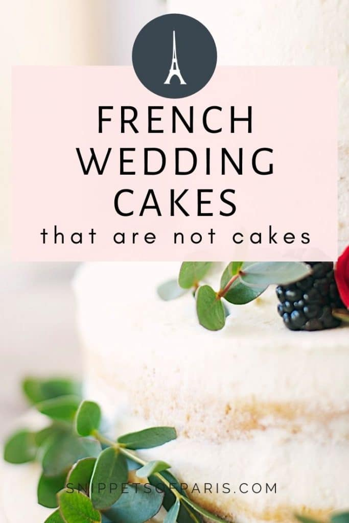 French wedding cakes - pin to pinterest