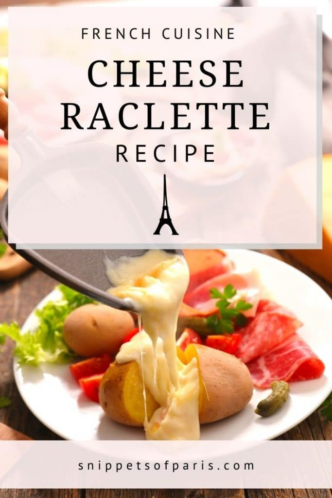 Cheese Raclette - pin for pinterest