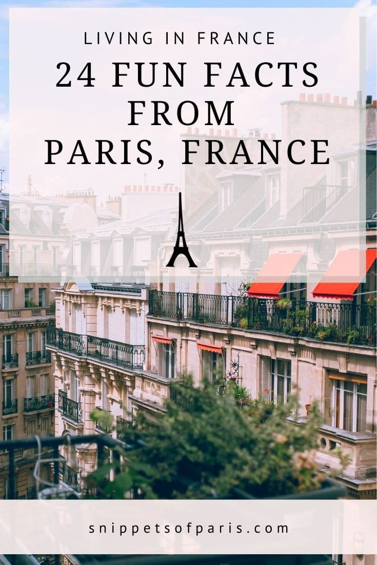 24+ Paris Facts: Trivia from the City of Lights