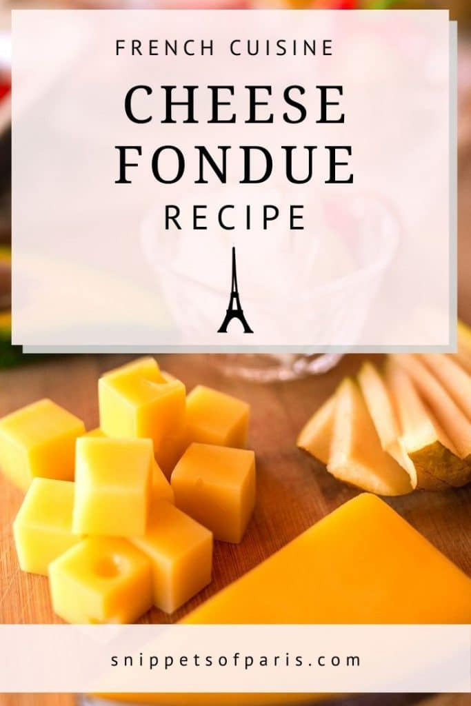 cheese fondue - pin to pinterest
