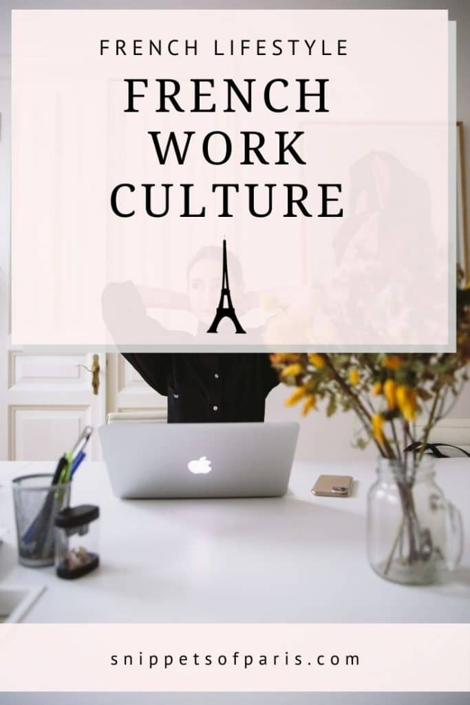 french work culture - pin for pinterest