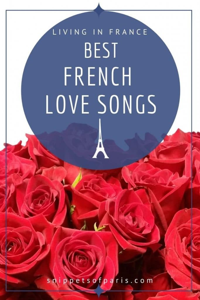 french love songs - pin for pinterest
