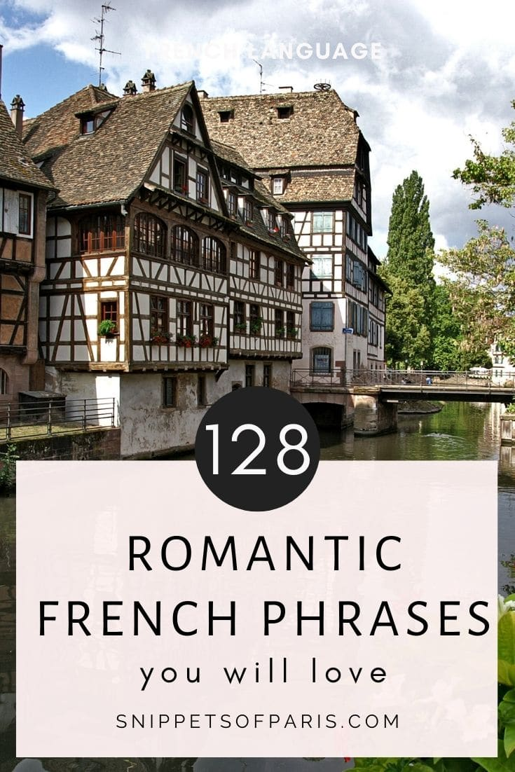 128 Romantic French Phrases: Say I Love you in French