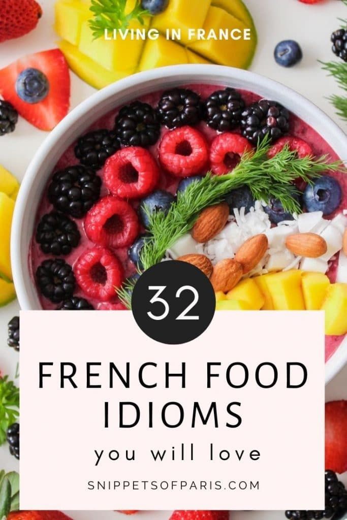 French food expressions - pin to pinterest