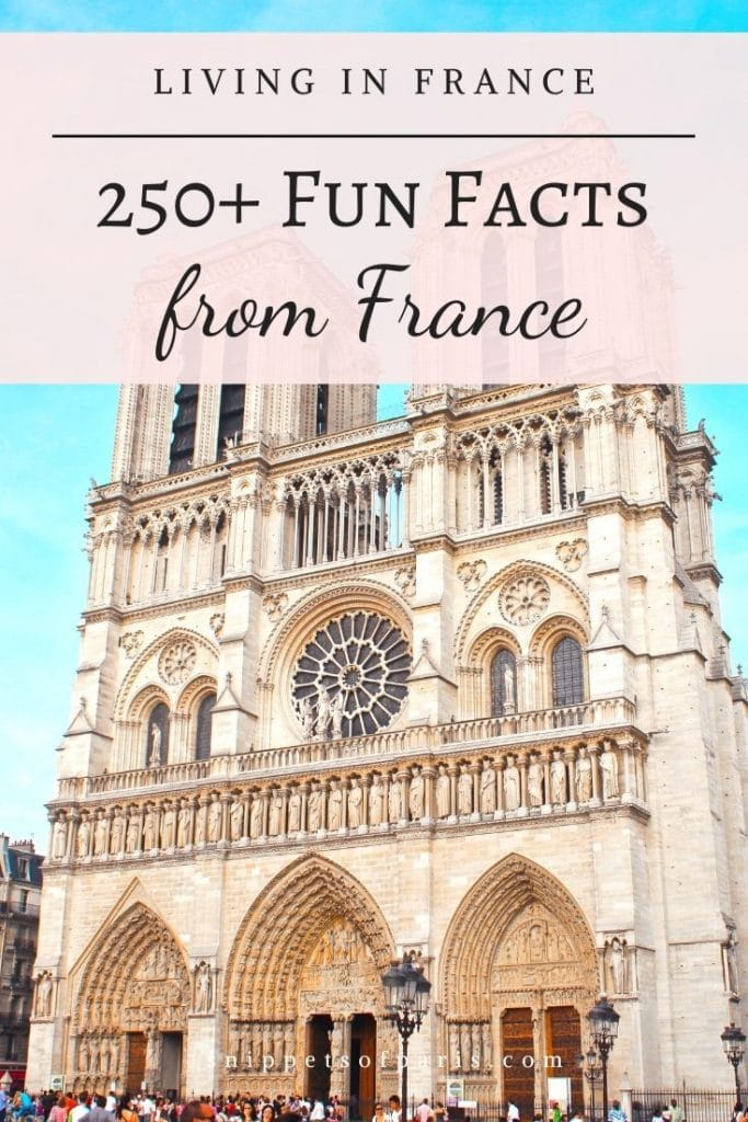 Facts from France - pin to pinterest
