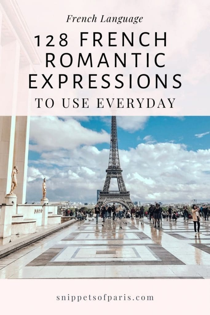 Romantic French Phrases - pin to pinterest