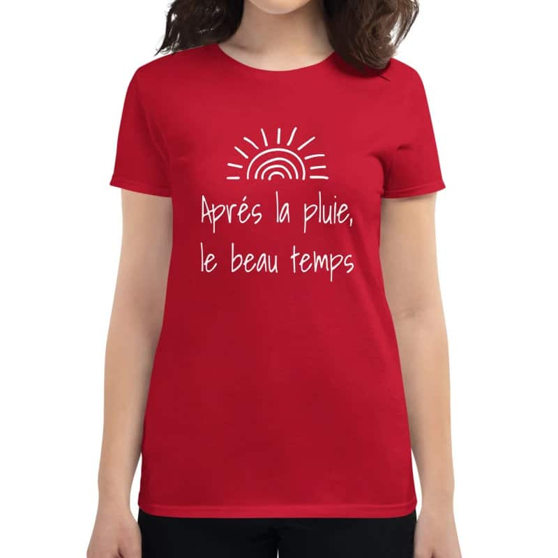 After the rain, the sunshine tshirt