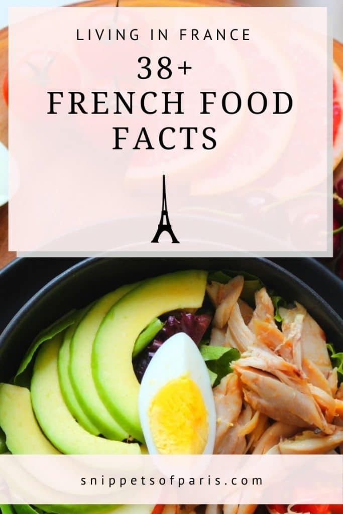 french food facts - pin for pinterest