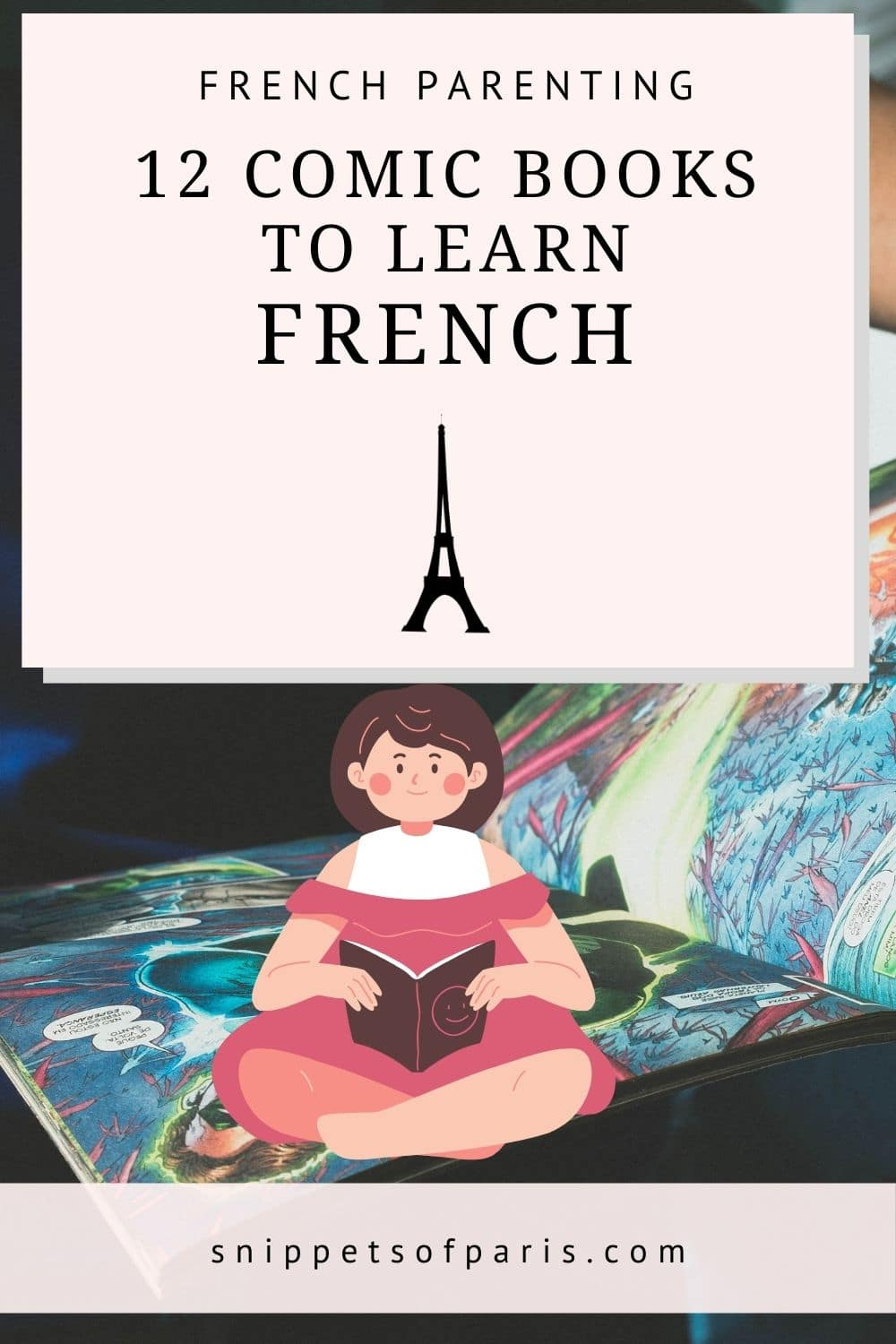 12 French Comics to love learning French