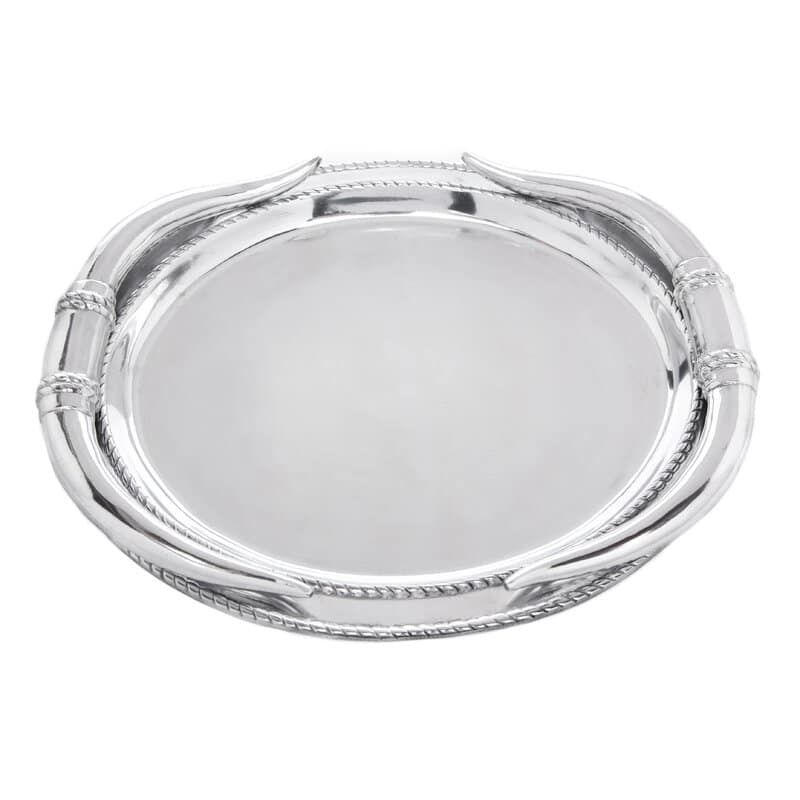 Silver Aluminium Platter