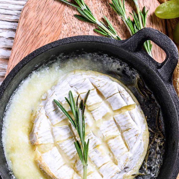 Baked camembert recipe