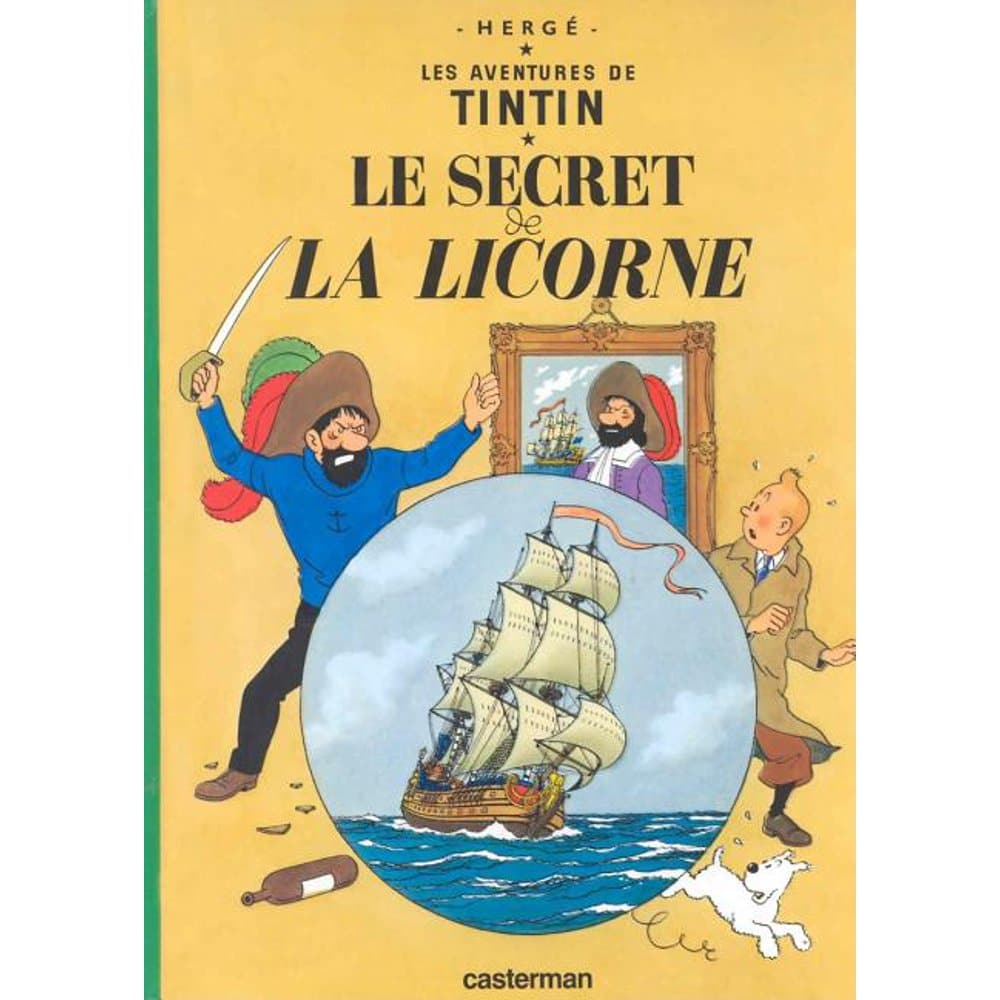 Tintin Comic cover