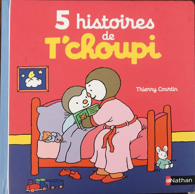 5 stories of T'choupi
