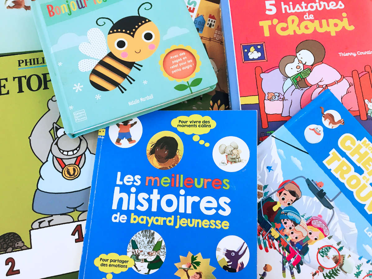 12 Best French Children's Books to learn French