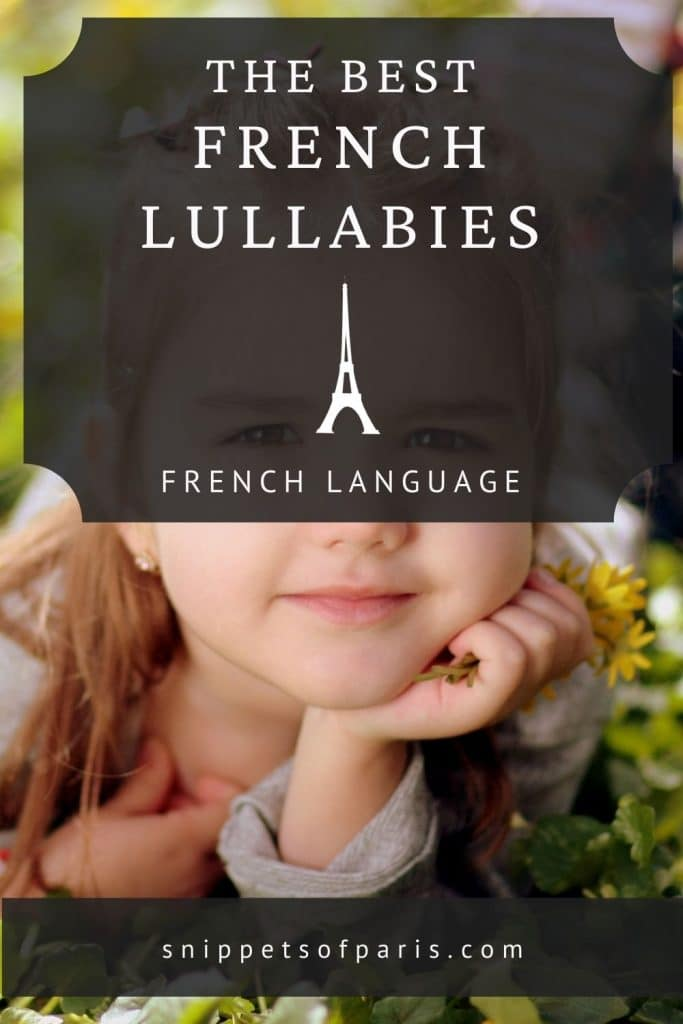 French lullabies - pin to pinterest
