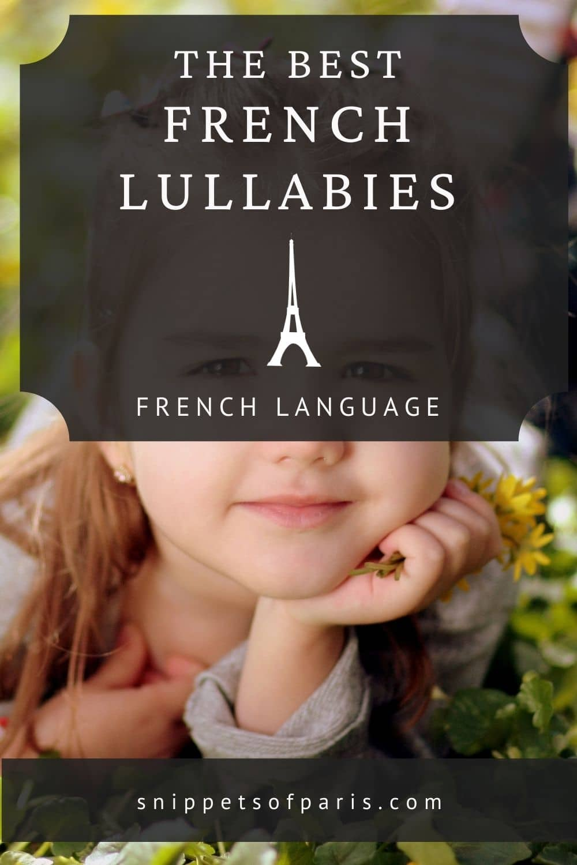 12 French Lullabies for your little one (translation lyrics & audio)