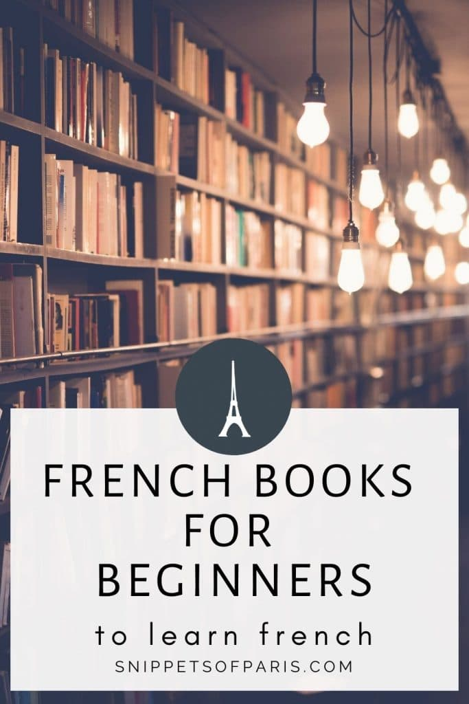 French books for beginners - pin for pinterest