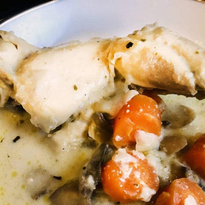 creamy chicken blanquette