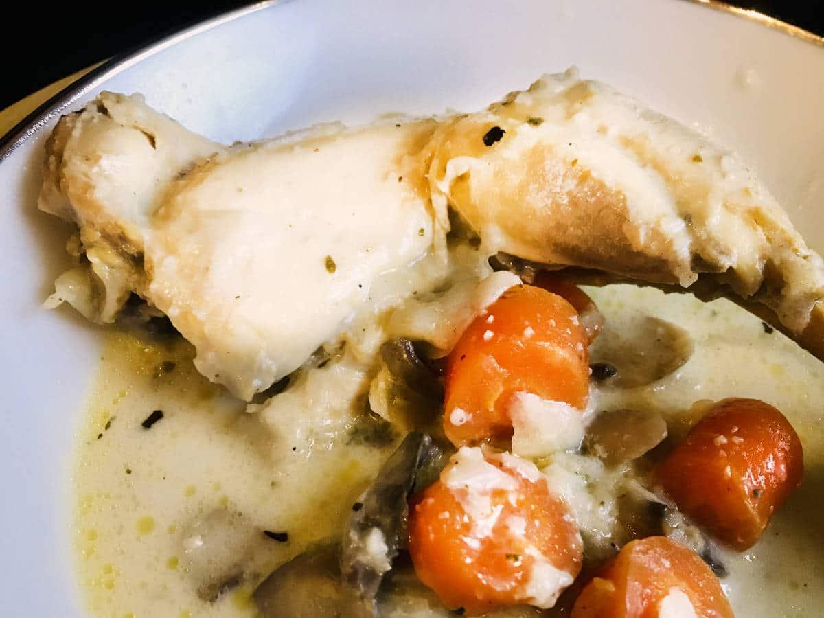 Creamy Chicken Blanquette (Instant Pot Recipe)