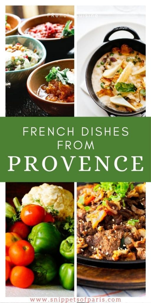 Pin to pinterest - French recipes from Provence