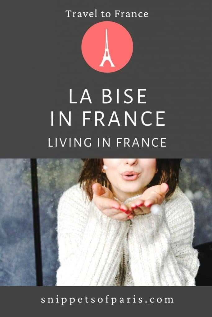 La bise in France (Etiquette Guide) - pin to pinterest