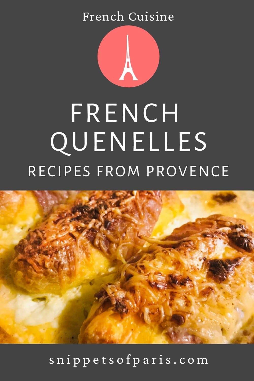 Lyonnaise Quenelles in Cream Sauce (Recipe)