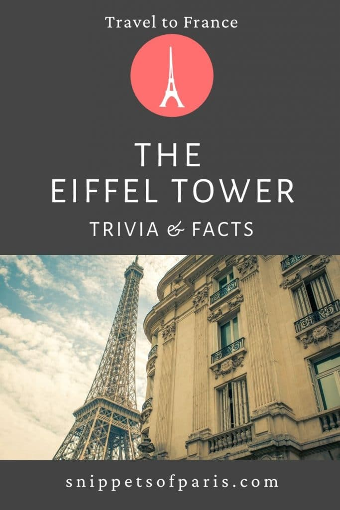 Facts about the Eiffel Tower - Pin to Pinterest