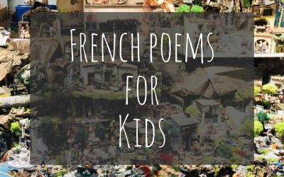11 Beautiful French Poems for Kids