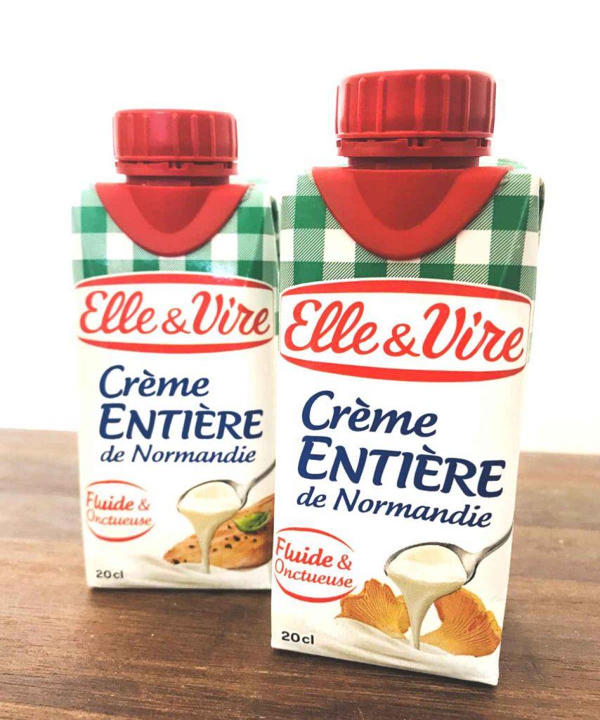 Crème fraîche de Normandie France