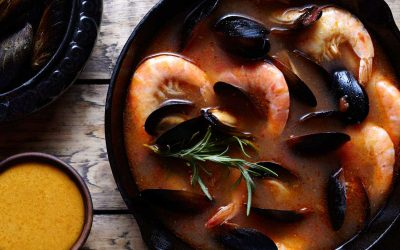 Marseille's Bouillabaisse Instant Pot Recipe (Adapted)