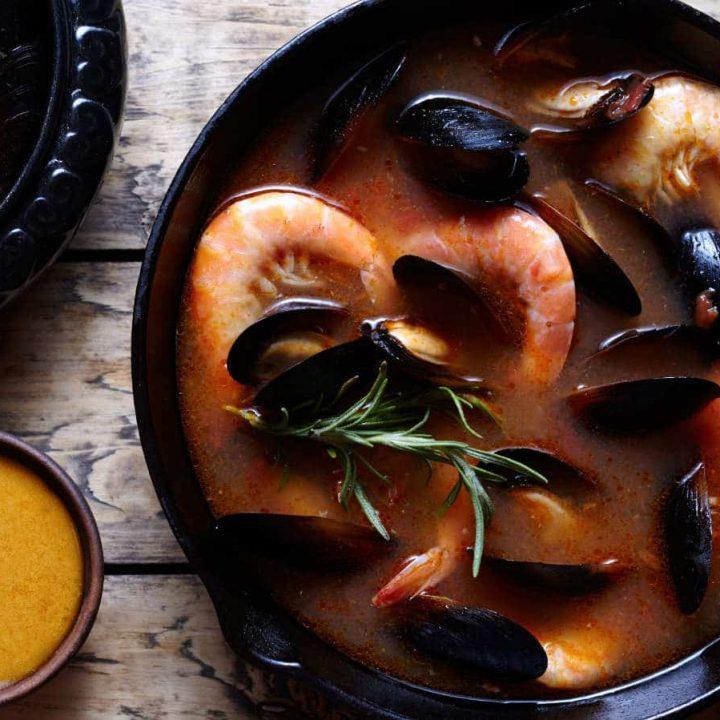 Bouillabaisse recipe for instant pot
